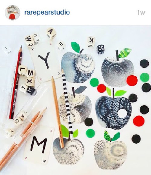 RarePearStudio instagram - collage
