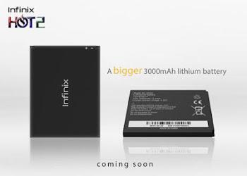 The New Infinix 3000mah Battery - Increased Battery CAPACITY 1