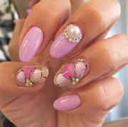 gel acrylic nail art trends 2018