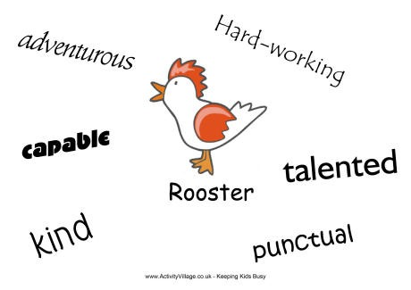 rooster_characteristics