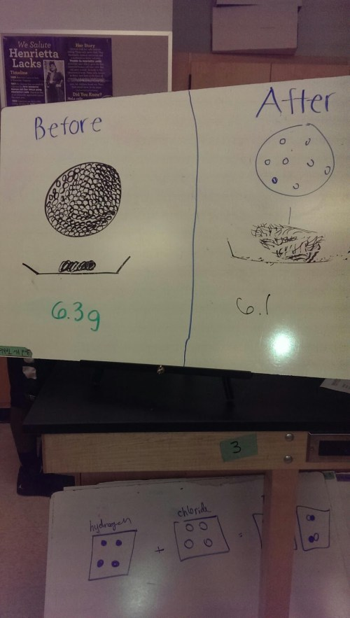 small resolution of whiteboard of the particles of the steel wool and pulled apart steel wool