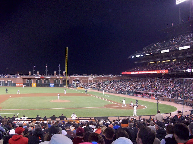 IVLP 2010 - Baseball in San Francisco - 100_1356.JPG