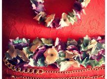 DeLaCuadra Tocados: Cinturón de Flores II