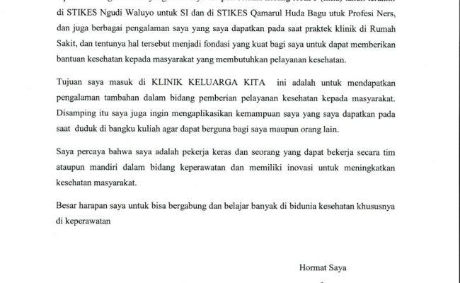 Contoh Surat Motivasi Untuk Pengajuan Beasiswa Cute766
