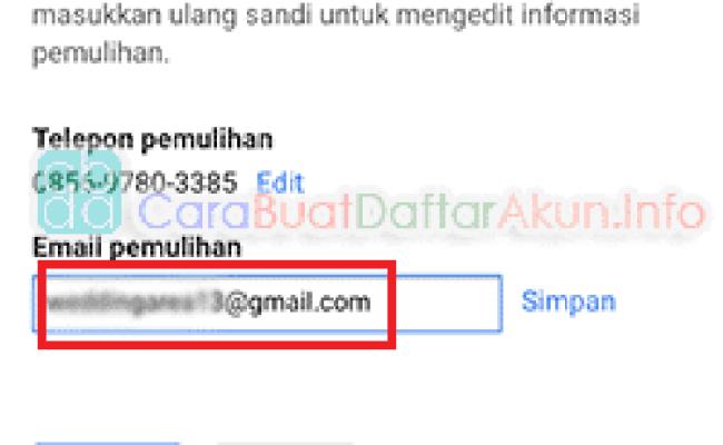 Kumpulan Contoh Alamat Email Contoh Aja Cute766