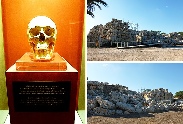 Malte, Gozo, temples de ggantija, patrimoine mondial UNESCO, site mégalithique