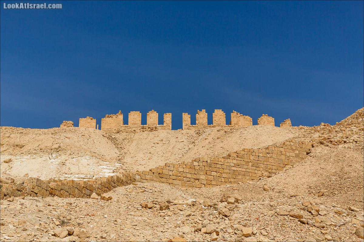 Набатейский город Ницана | Nitzana | ניצנה | LookAtIsrael.com - Фото путешествия по Израилю