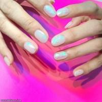 Glass Nail Art Is the Latest Korean Beauty   Fashionte