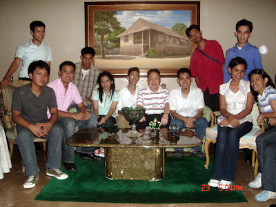 March 23: Brian Panlilio's Residence (Greenmeadows, Quezon City)
