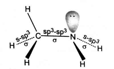 Hybrdization in amines