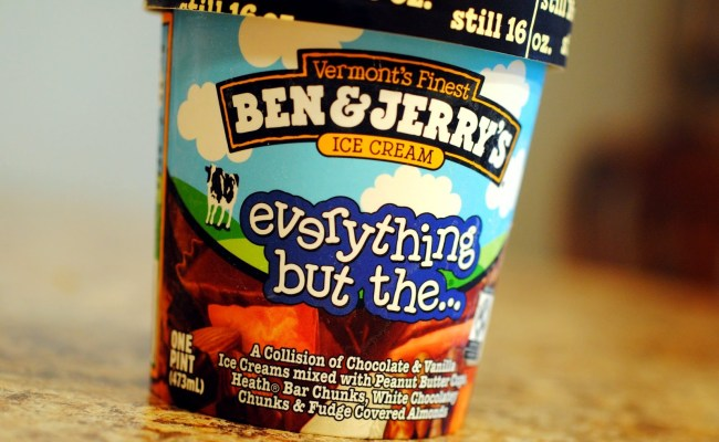 Food And Ice Cream Recipes Review Ben Jerry S Everything But The