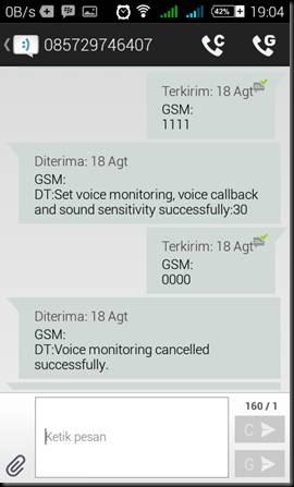 cara mudah menggunakan gsm bug a8