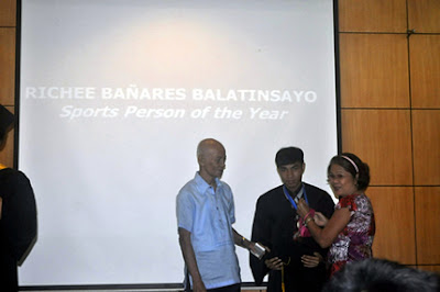 Richee Balatinsayo, Sports Persson of the Year