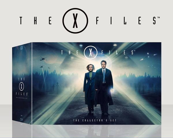 Arquivo X (The X-Files) for the first time ever Blu-ray - será lançado pela primeira vez em Blu-ray