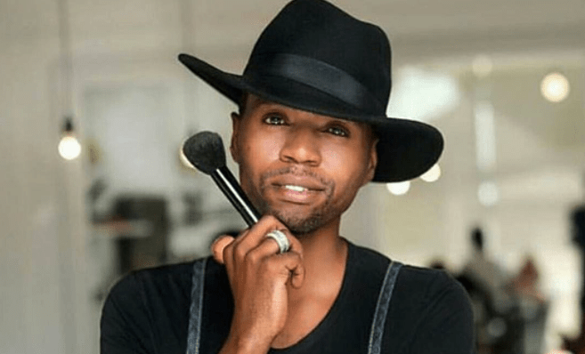 Experts African men who are great at doing hair and make-up 4