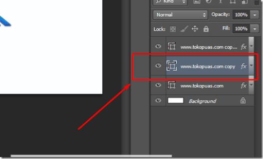 trik membuat tulisan efek 3d photoshop