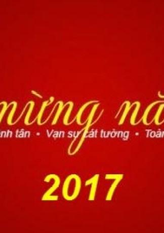 25 ảnh bìa facebook tết đinh dậu 2017 đẹp lung linh