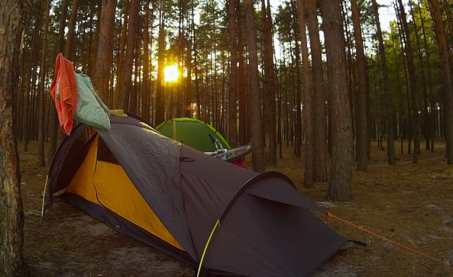 осницьк2 - палатка
