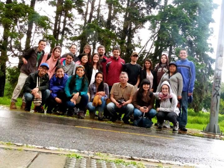Visitando el humedal El Cortijo