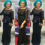 black Aso Ebi Styles for Wedding Guests