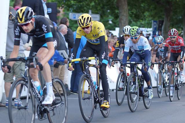 de top 2 uit de Ronde van Frankrijk, Froome en Quintana