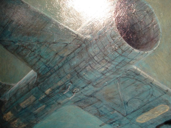 Zdzislaw Beksinski Painting Close