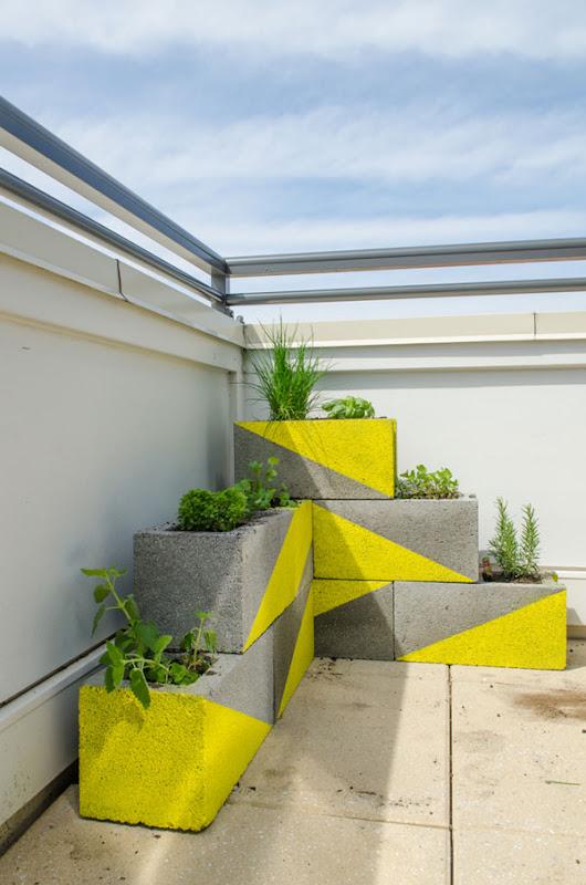 Decoración barata para la terraza