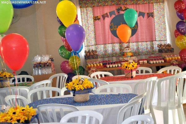 Resultado de imagem para festa junina enfeite de mesa