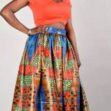 african print maxi skirts ready to wear 2017 / 18