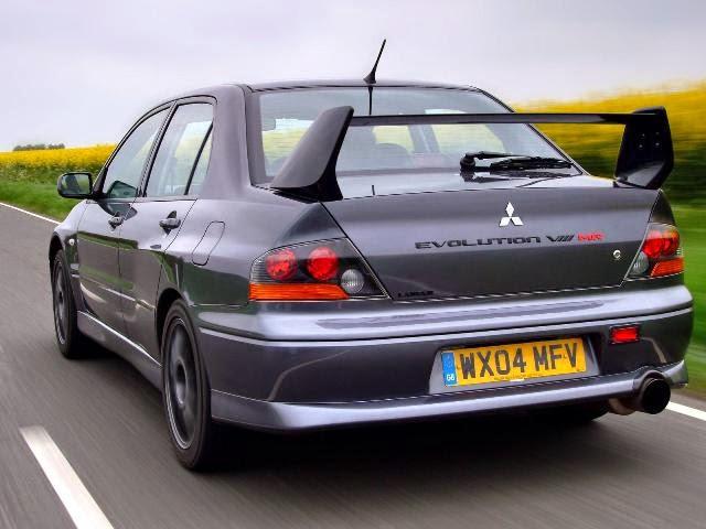 2003 Mitsubishi Lancer Evolution 8MR