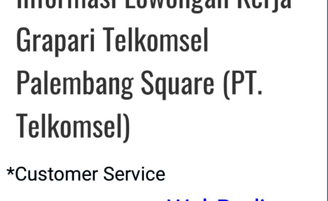 Lowongan Kerja Di Ps Mall Palembang 2019 Kumpulan Kerjaan Cute766