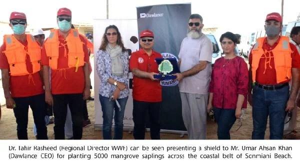 Dawlance joins WWF-Pakistan for plantation of 5,000 Mangroves on coastal belt