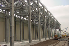 Systems Contracting Galvanized Structural Steel Erection for Silo Structure