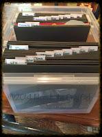 School paper filing system at http://www.momistheonlygirl.com