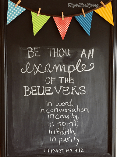 be thou an example of the believers