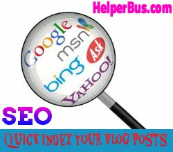How to Quick Index your Blog Posts in Search Engines