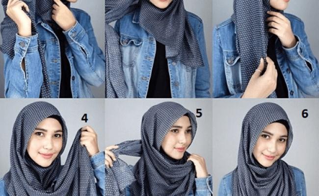 Latest Hijab Tutorial For 2015 Simple Hijab Hijab Style Tutorial Hijab Fashion Dubai Khalifa