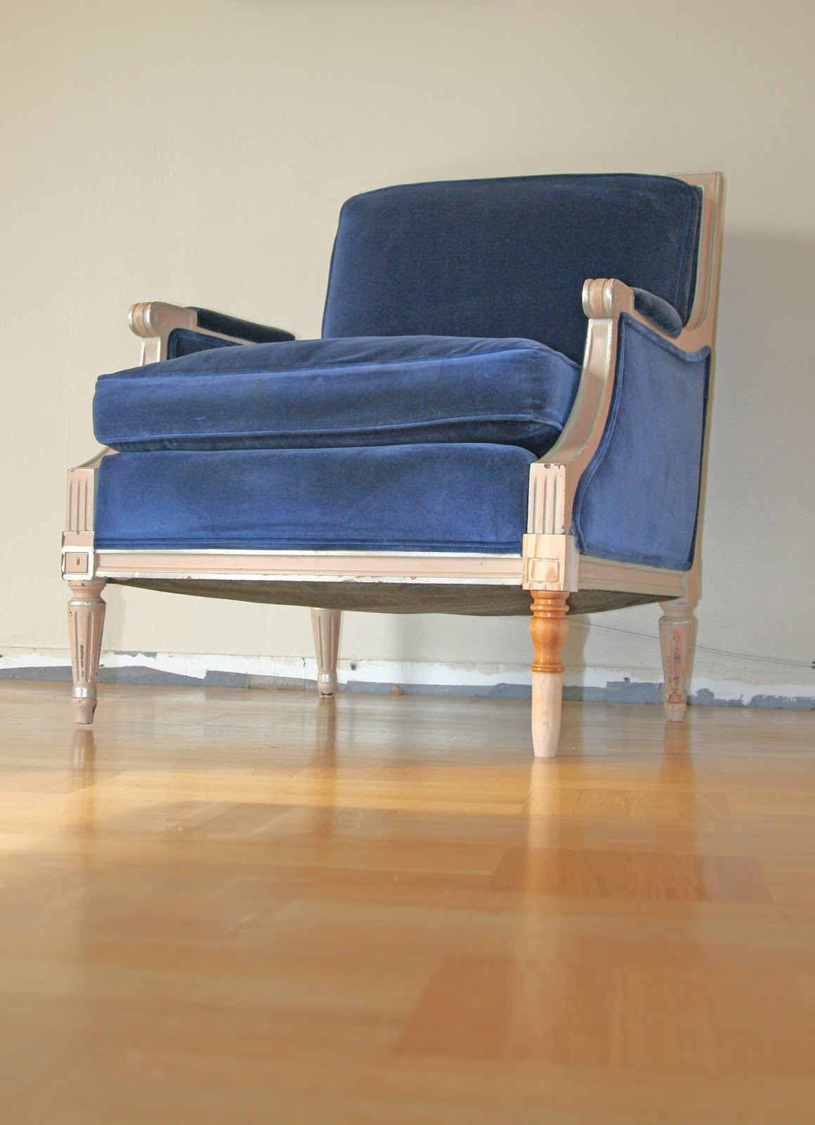 blue velvet armchair nz steelcase vintage chair the recreate design company