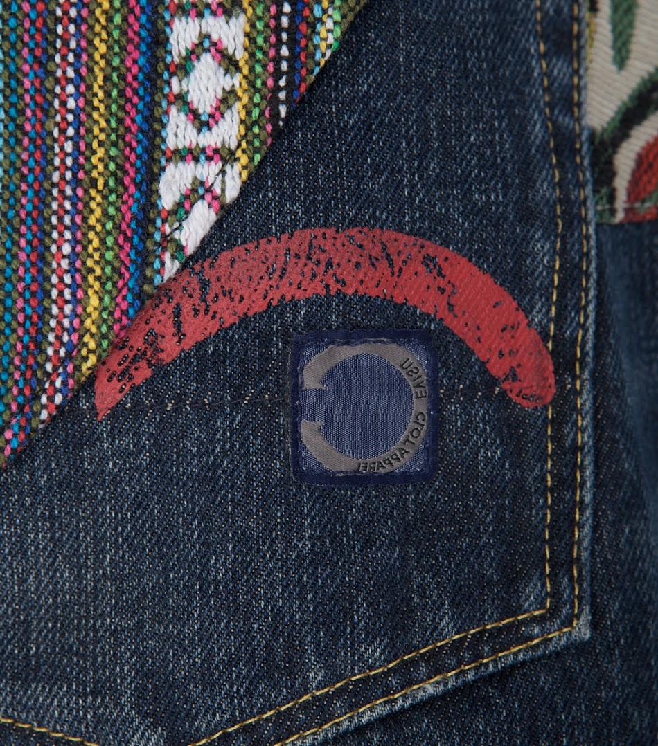 *EVISU x CLOT Case Study 001:限量民族風水洗丹寧褲! 3