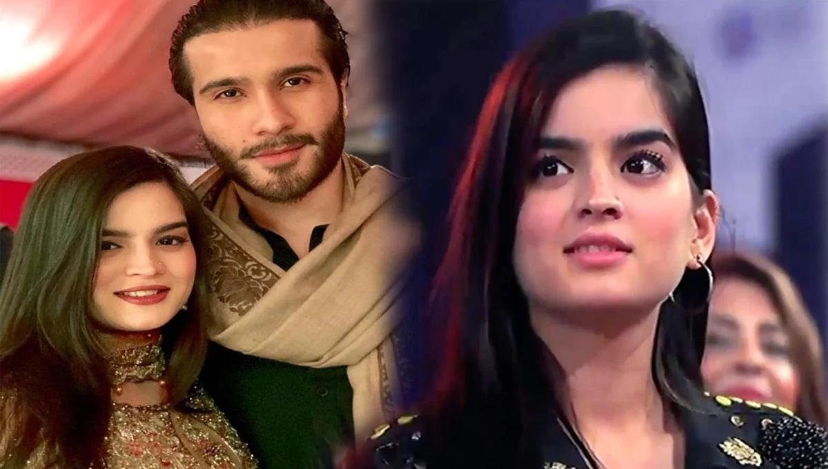 Feroze Khan's wife Aliza Fatima broke the silence over Divorce news