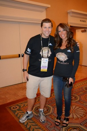 Shawn Collins and Missy Ward