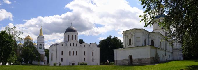 Чернигов Детинец, храмы