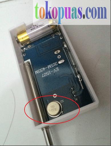 perbedaan pir sensor 315 dan 433