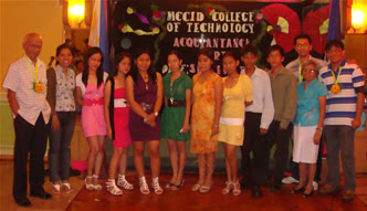 First Year Students from Tiaong, Quezon together with MCCID Administration and Faculty