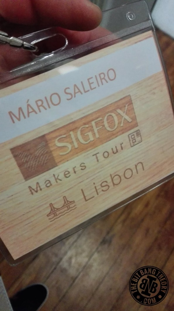 sigfox maker tour badge