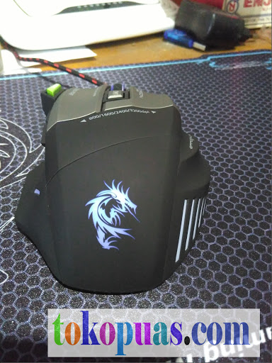 gaming mouse dragonwar thor