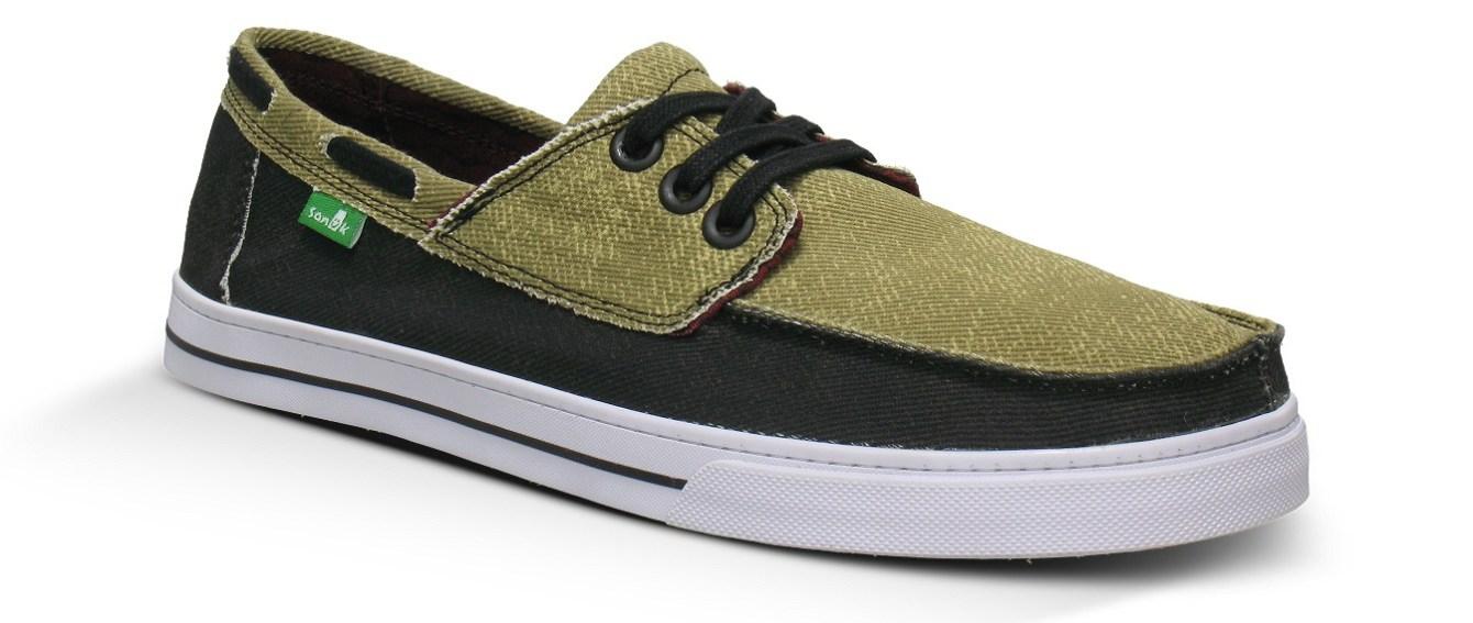 *Sanuk的丹寧雙拼帆船鞋:MENS CHUM 夏日上市! 3