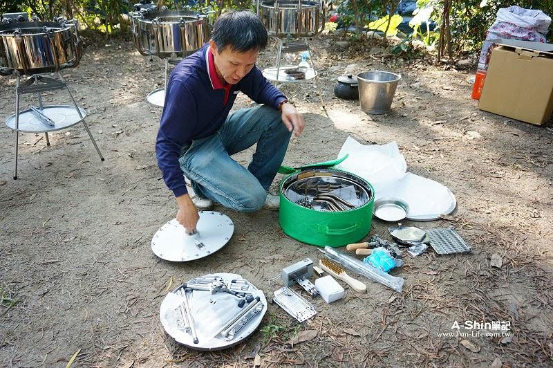 不鏽鋼鍋-夯伯燒烤萬用爐3