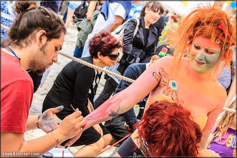 Тель Авив - Фестиваль body-painting