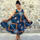 New Fashion Of  Kitenge Dresses 2017 and 2018